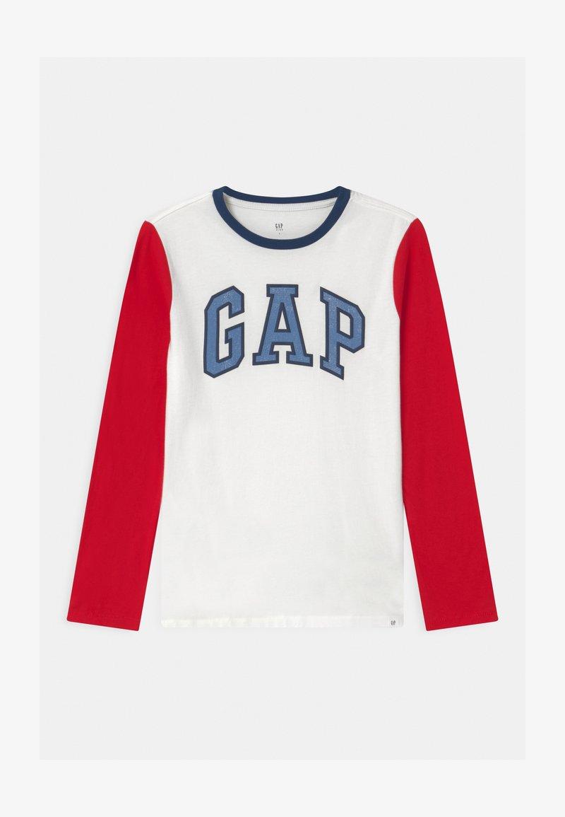 GAP - BOY LOGO  - Langarmshirt - off white