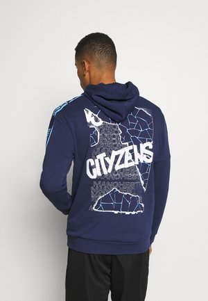 MANCHESTER CITY HOODY - Club wear - peacoat