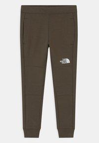 The North Face - SLACKER  - Teplákové kalhoty - new taupe green - 0