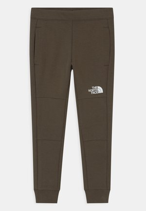 SLACKER  - Tracksuit bottoms - new taupe green