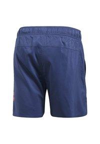 adidas Performance - SOLID TECH SWIM SHORTS - Shorts - blue - 8