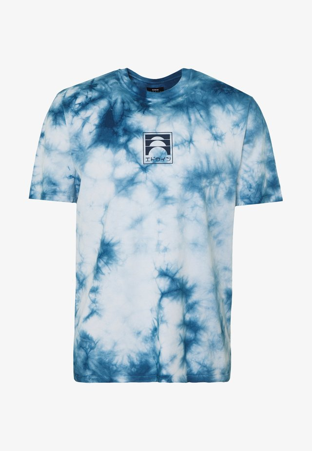 SUNRISE  - Print T-shirt - vintage blue