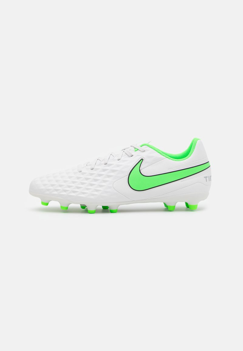Nike Performance - TIEMPO LEGEND 8 CLUB FG/MG - Moulded stud football boots - platinum tint/rage green