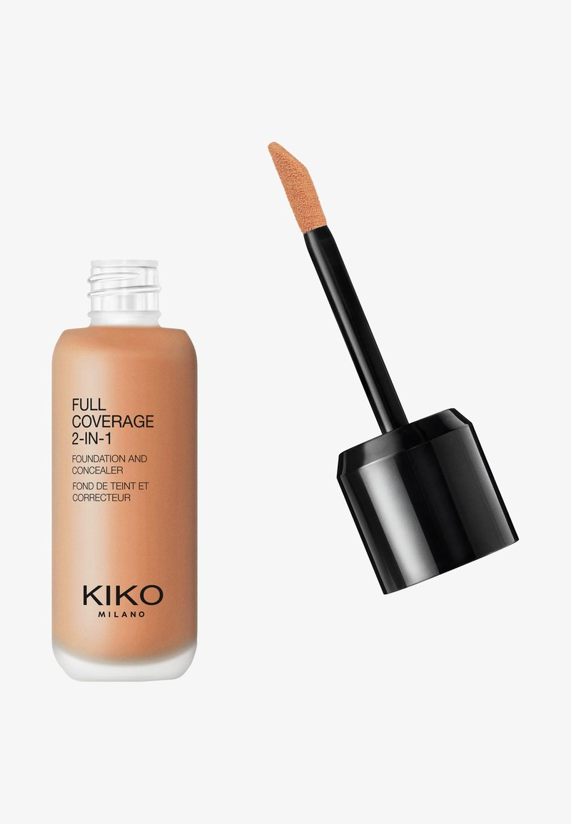 KIKO Milano - FULL COVERAGE 2 IN 1 FOUNDATION AND CONCEALER - Foundation - 80 neutral
