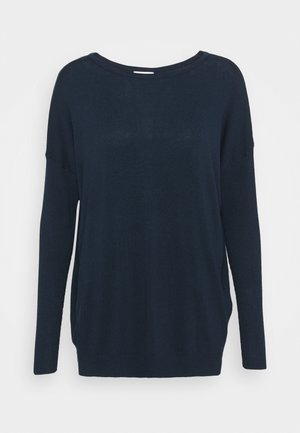 KAMACHELLE ROUND NECK  - Jumper - midnight marine