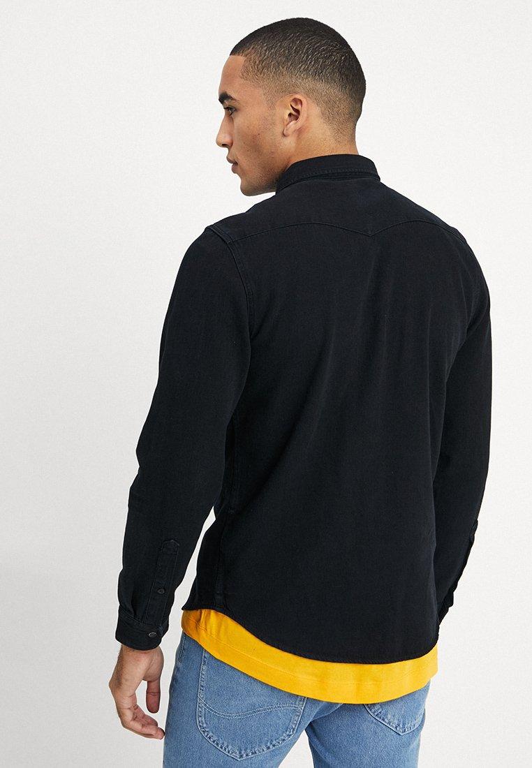 Klassisk Lee WESTERN  Skjorter  black Feb2L