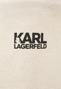 KARL LAGERFELD - EXCLUSIVE SIGNITURE - Tote bag - off-white - 4