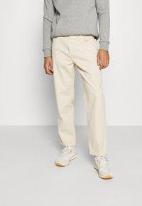 Kickers Classics - DRILL STRAIGHT LEG TROUSER - Trousers - beige - 0