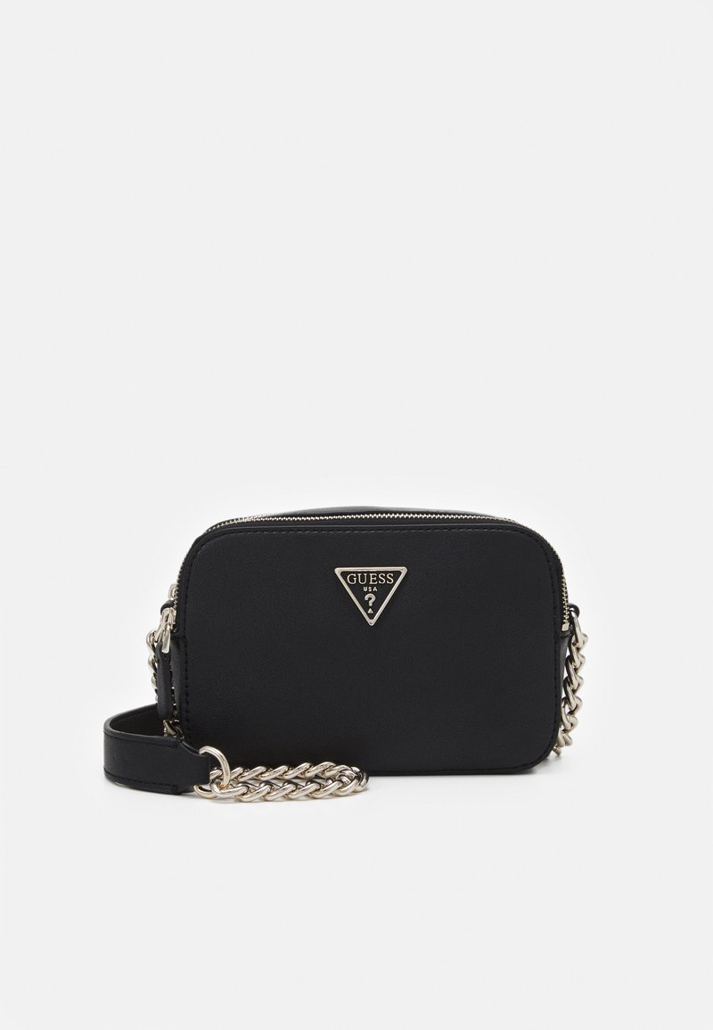Guess - NOELLE CROSSBODY CAMERA - Schoudertas - black