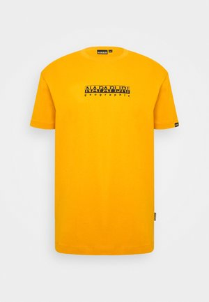 BOX UNISEX - Print T-shirt - yellow solar