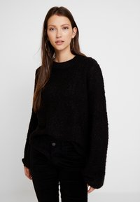 Vila - Strickpullover - black - 0