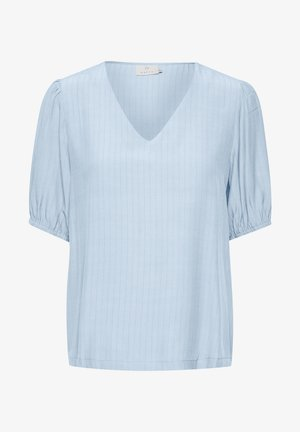 Blouse - chambray blue
