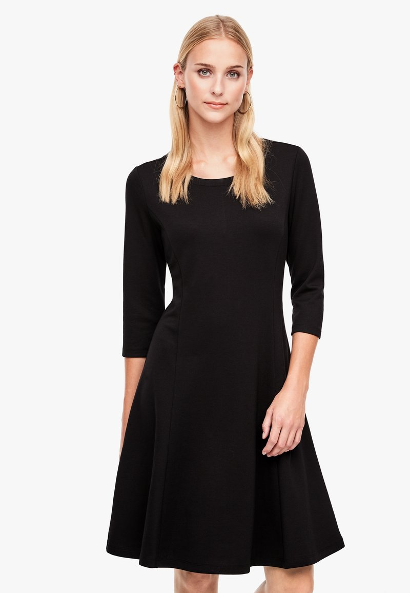 s.Oliver - Jersey dress - black