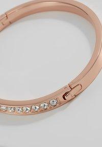 Ted Baker - CLEMARA HINGE BANGLE - Bracelet - rose gold-coloured/crystal - 3