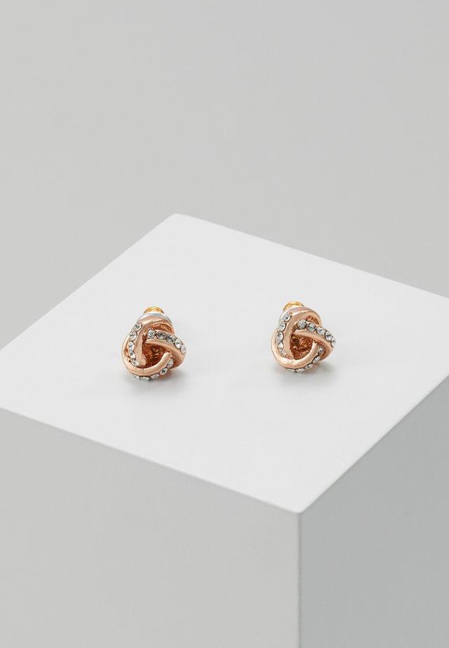 EARRINGS KATELYN - Oorbellen - rosegold-coloured