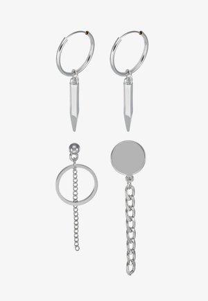 DROP EARRING SET - Orecchini - silver-coloured
