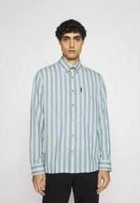 Ben Sherman - CANDY STRIPE - Shirt - riviera blue - 0