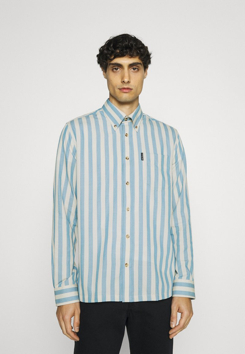 Ben Sherman - CANDY STRIPE - Shirt - riviera blue