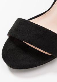 BEBO - CIMONA - Sandály na vysokém podpatku - black - 2
