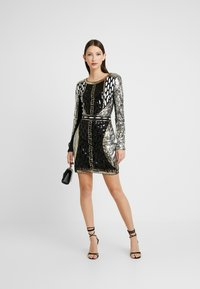Nly by Nelly - EMBELLISHED MINI DRESS - Cocktailkjole - multi - 1