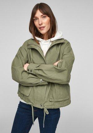 Denim jacket - light khaki