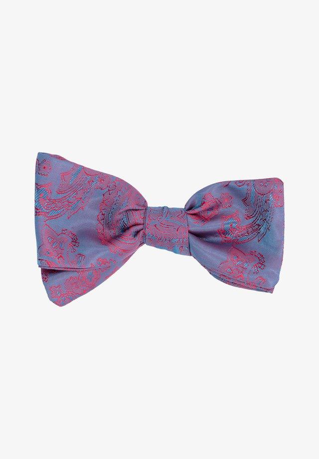 B/R SHELBY - Noeud papillon - blau/rot