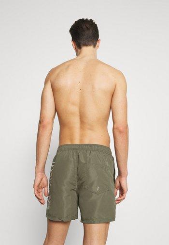 Swimming shorts - dusty olive