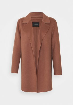CLAIRENE LUXE NEW - Classic coat - dark rose