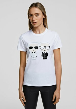 GEMINI - T-shirt imprimé - white