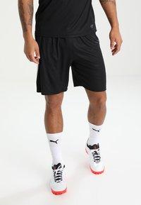 Puma - LIGA - kurze Sporthose - black/white - 0