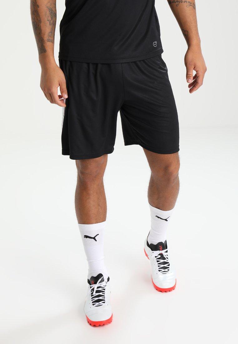Puma - LIGA - kurze Sporthose - black/white