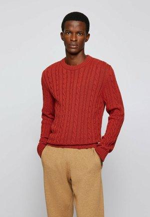 NAMAZIO - Stickad tröja - red