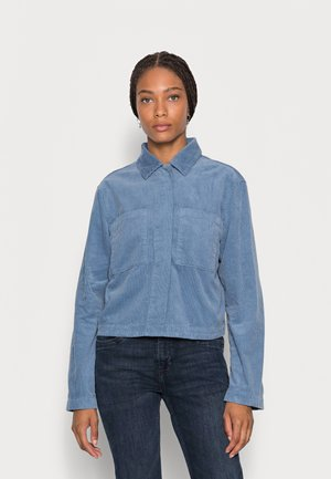 INDOOR JACKET CROPPED STYLE  CHEST POCKETS - Summer jacket - fall sky