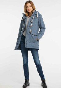 DreiMaster - Winter coat - blue - 1