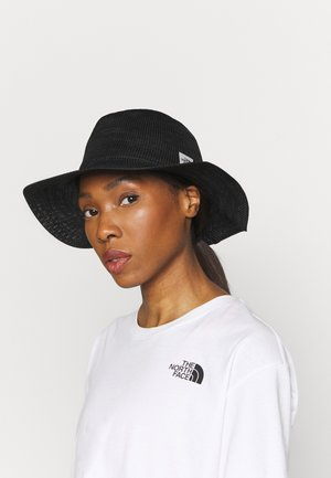 WOMENS PACKABLE PANAMA HAT - Hoed - asphalt grey