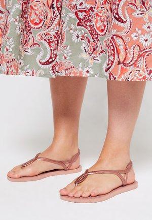 LUNA - Sandalias de dedo - crocus rose