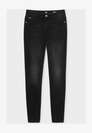 Straight leg jeans - denim dark gray