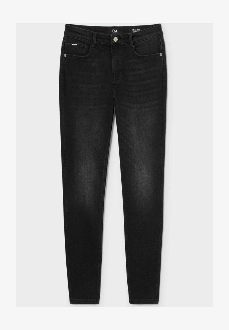 C&A - Straight leg jeans - denim dark gray