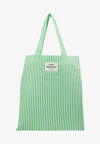 Mads Nørgaard - ATOMA - Tote bag - white/green - 5