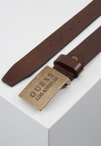 Guess - HYPE ADJUSTABLE BELT - Belt - dark brown - 2