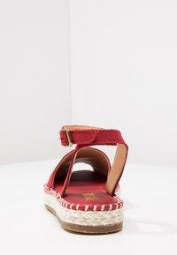 El Naturalista - MARINE - Platform sandals - tibet - 3