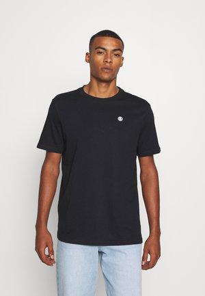 CAVOUR - Basic T-shirt - black
