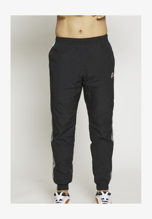 PANT SIGNATURE - Teplákové kalhoty - black/smoke grey/summit white