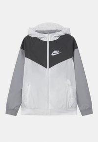 Nike Sportswear - Training jacket - white/black/wolf grey - 0