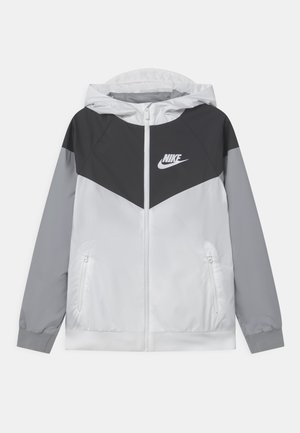 Veste de survêtement - white/black/wolf grey