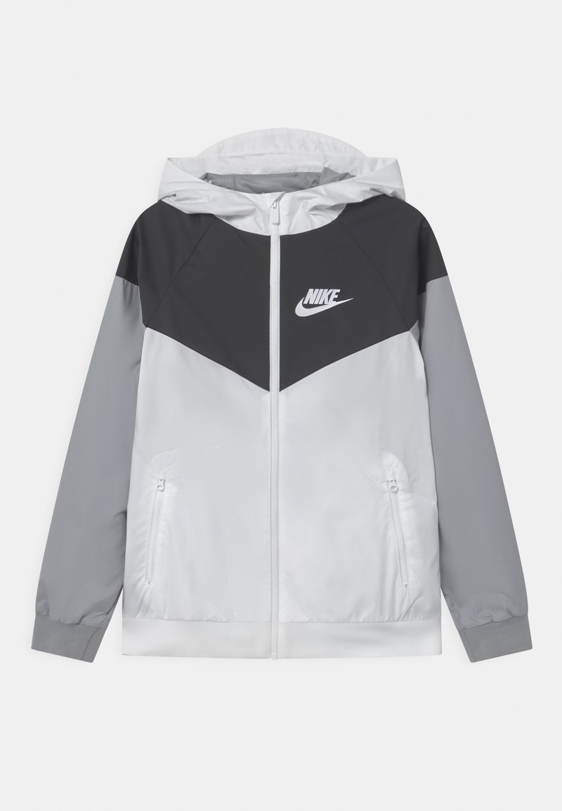 Nike Sportswear - Training jacket - white/black/wolf grey