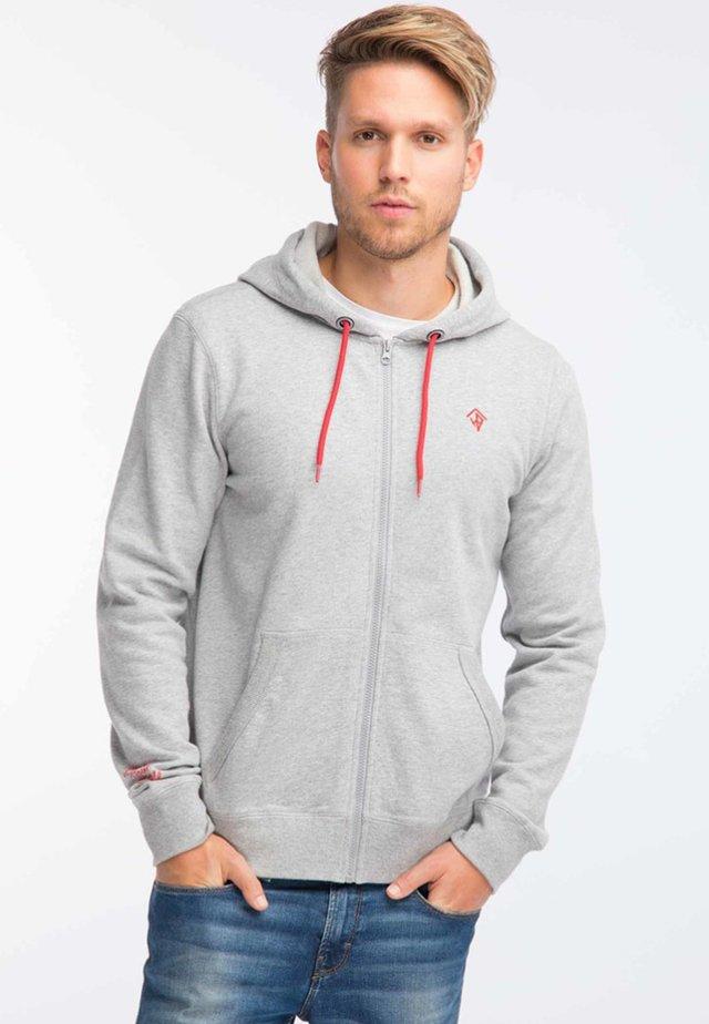 Felpa aperta - grey