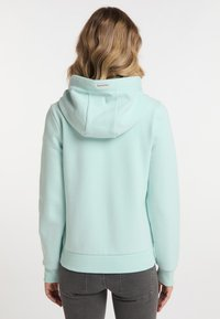 Schmuddelwedda - Zip-up sweatshirt - pastellmint - 2