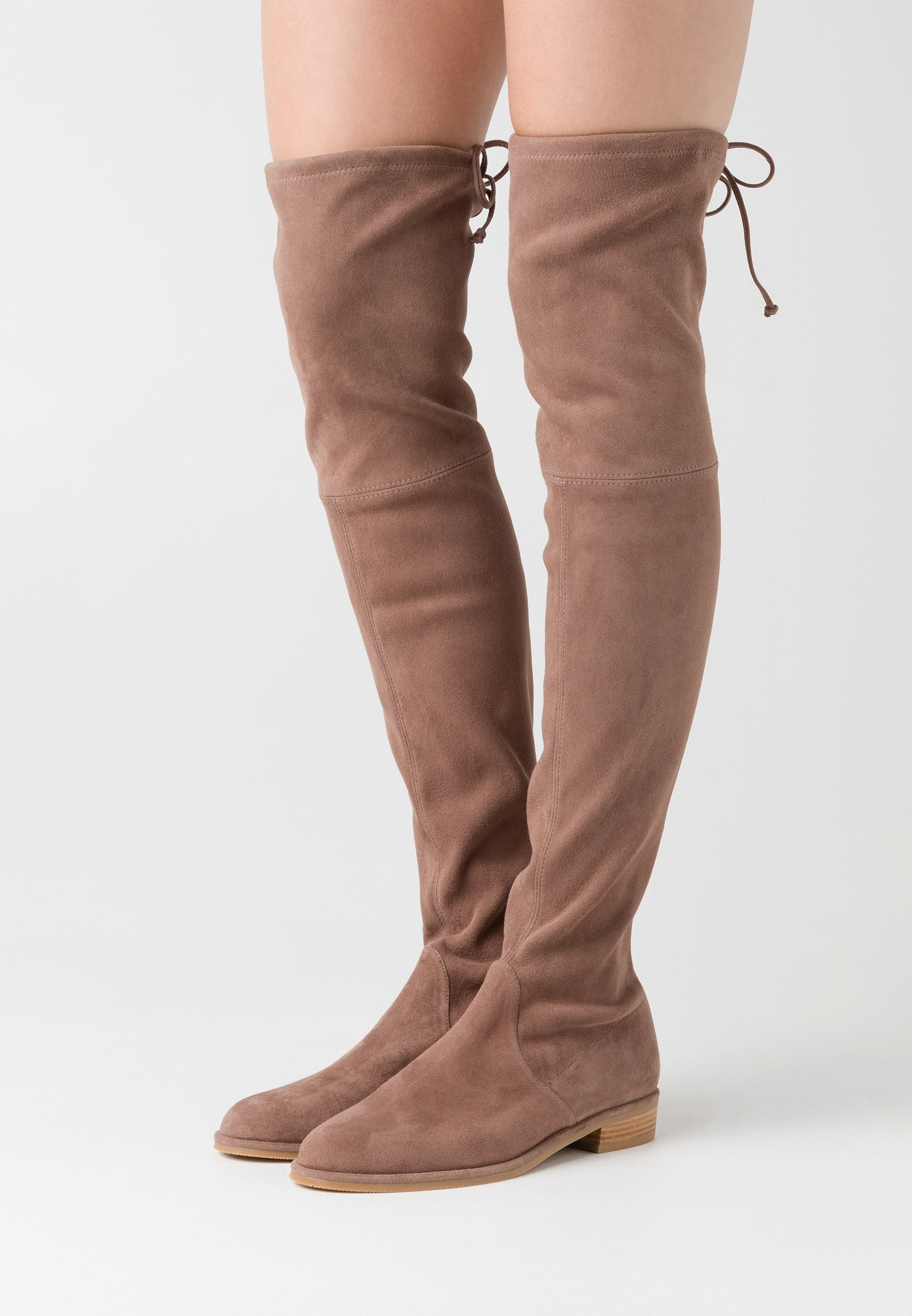 Bruine Dames Overknee Laarzen van Stuart Weitzman online