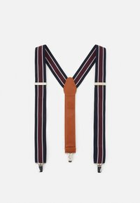 Shelby & Sons - PHILLY BRACES - Belte - bordeaux/navy - 0